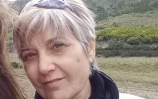 La víctima Sara Gaspani, de 58 años.