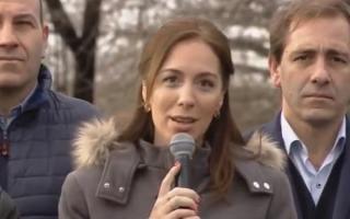 Durante la conferencia de prensa recordó a las oficiales asesinadas la última semana.Foto: Prensa