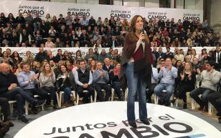 Vidal lanzó formalmente la campaña oficialista bonaerense.