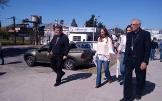 Vidal en San Nicolás (Fotos: Diario el Informante)