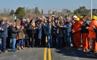 Arenales: Reconstruyeron el puente que cedió por la inundación en 2017
