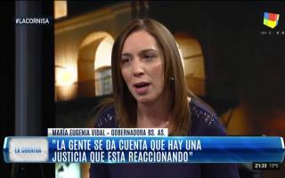 Vidal cargó contra Festa en su entrevista en La Cornisa.