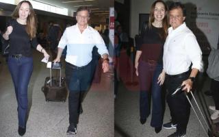 Vidal estuvo dos semanas en Europa junto a Sacco.
