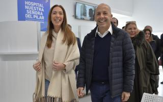 Pilar: Vidal sumó a Lilita Carrió a la campaña