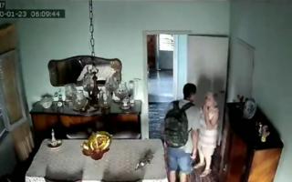 Momento de terror para jubilada de 90 años que le robaron en su casa de Adrogué
