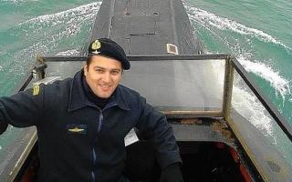 Fernando Villareal, el jefe de operaciones del ARA San Juan