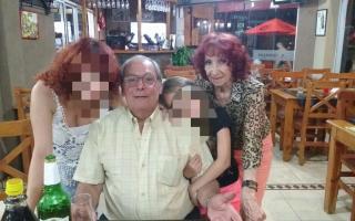 Gramuglia, el asesinado, y su mujer, herida.