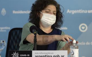 """""""No funciona un vacunatorio paralelo en el ministerio, fue una situación puntual"""", dijo la ministra Vizzotti"""