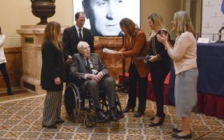 Inédito homenaje a voluntarios argentinos que combatieron en la Segunda Guerra Mundial