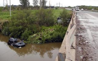 El puente de arroyo El Potrillo, una trampa mortal. Foto: Infowev