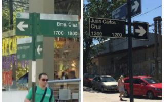Ni Bartolomé Cruz ni Juan Carlos Cruz: En Vicente López, un cambio de nombre de calle aún persiste en el error