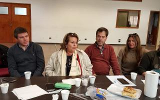 La FEB brindó una conferencia de prensa en Mar del Plata. Foto: LN1