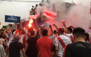 Los hinchas de River celebraron en San Pedro. Foto:LaNoticia1.com
