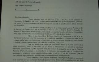 José Luis Salomón brindó detalles sobre la infracción de tránsito cometida. Foto: Prensa
