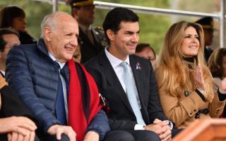 Roberto Lavagna y Juan Manuel Urtubey juntos en homenaje a Güemes