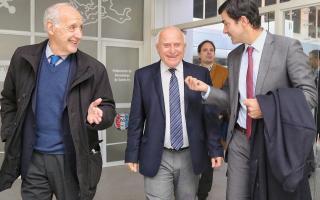 Lavagna y Urtubey compartieron acto con Lifschitz