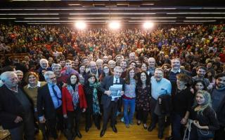 """Alberto Fernández prometió volver a hacer ministerio a Ciencia """"con los intereses de las Leliq"""""""