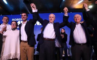 """Lavagna cerró su campaña: """"A mi edad lo que más me inspira es darle una mano al país"""""""