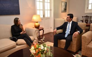 Urtubey recibió a cónsul boliviana y se puso a disposición para garantizarle seguridad