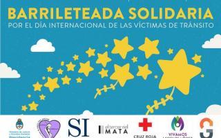 Barrileteada solidaria para recordar a las víctimas.