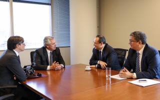 Fernández con la CAF: Créditos por más de U$D 4.000 millones incluyen a la Provincia