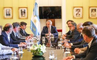 Retenciones al campo: La Mesa de Enlace se llevó la promesa de Fernández de que en el futuro las bajará