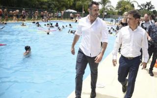 En Pilar, Kicillof y Achával inauguraron las Escuelas Abiertas en Verano