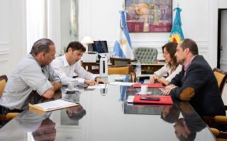 Berni y Frederic cara a cara en reunión con el gobernador Kicillof tras la polémica por la seguridad