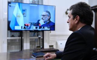 Massa celebró que la Cámara de Diputados avance en medidas para sesionar en forma virtual.