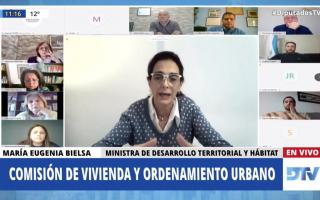 La Ministra Bielsa habló ante Diputados.