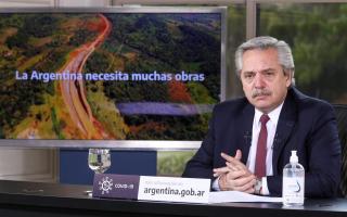El Presidente anunció ejecución de obras en Olivos