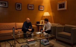 Kicillof se reunió con Rodríguez Larreta en la casa de Gobierno porteña en Parque Patricios