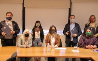 San Isidro: Malena Galmarini se reunió con concejales del Frente de Todos