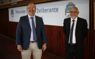 Juan Carlos Berns y Sergio Iacovino