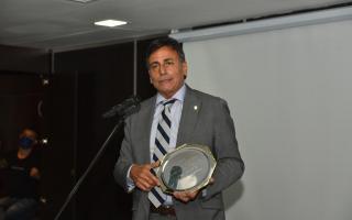 El diputado bonaerense Rubén Eslaiman fue premiado por su labor legislativa en Provincia