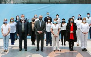 Alberto Fernández presentó un proyecto de ley que busca jerarquizar y mejorar la calidad de formación de la enfermería