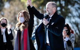 Insaurralde presentó la campaña del Frente de Todos de Lomas