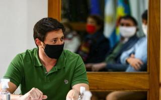 El intendente de Pinamar, Martín Yeza.