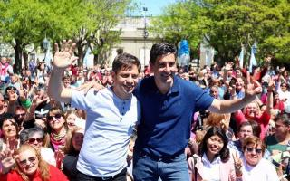 Kicillof y Hernán Y Zurieta