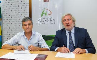 Hurlingham: Zabaleta firmó convenio de colaboración con la Procuración General de la Provincia