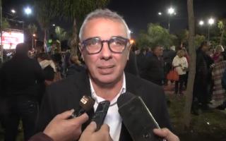 Zamora cuestionó a Macri durante la inauguración de una plaza.