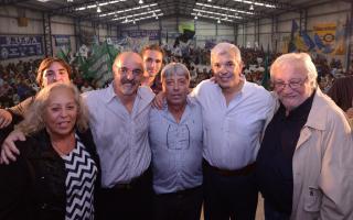 Julián Domínguez encabezó el acto de la UOM por el Día del Trabajador.