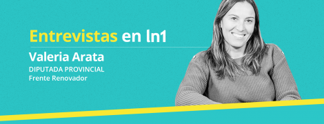 Valeria Arata dialogó con LaNoticia1.com.