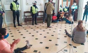 Tensión en el Municipio de Olavarría.