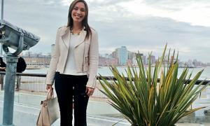 Vidal llega a Mar del Plata para anunciar promociones para turistas.
