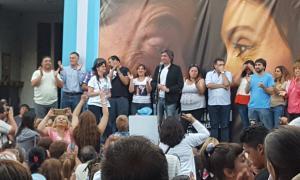 """""""Es hora de terminar con los sindicatos en los despachos y sacarlos a las calles"""", dijo Máximo Kirchner."""