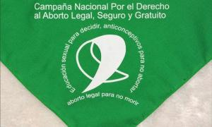 El pañuelo verde, símbolo del aborto legal, seguro y gratuito.