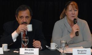 Stolbizer y Alfonsín comienzan a recorrer el país pensando en 2019.