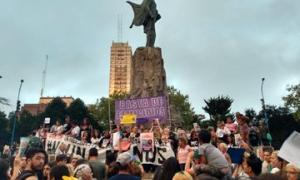 Miles de personas marcharon en Mar del Plata.