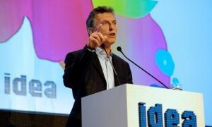 Macri estará en IDEA a las 17.30.